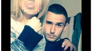 Emanuele Morganti con la fidanzata