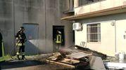 Perignano, il capannone andato a fuoco (Germogli)