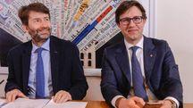 Franceschini e Nardella alla presentazione del G7 della Cultura