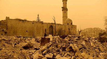Quel che resta di Aleppo oggi