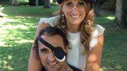 Graziano Mirante con la moglie
