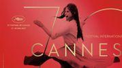 Claudia Cardinale nel manifesto di Cannes 2017 (Ansa)