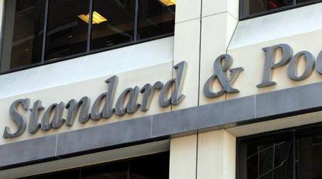 La società di rating Standard & Poor's (Ansa)