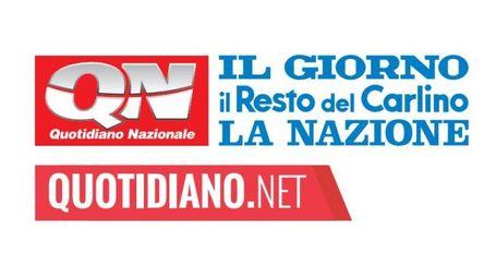 I loghi di Qn, Carlino, Nazione, Giorno, Quotidiano.net