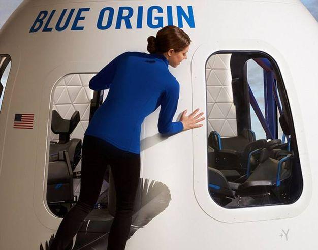 La capsula per il volo suborbitale (Foto: Blue Origin)