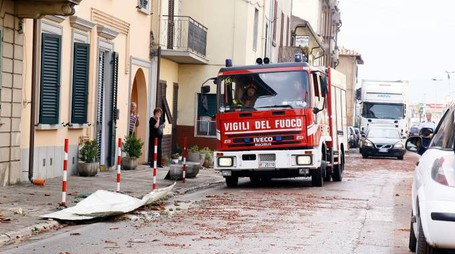 La tempesta del 2014 a Stabbia fece gravi danni