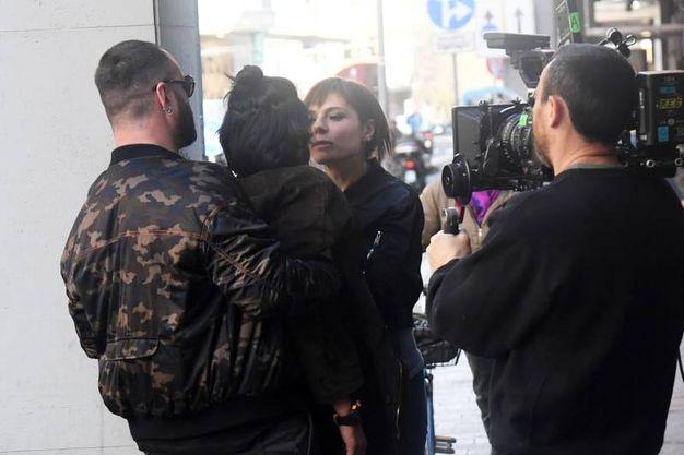 Nelle riprese anche Antonia Truppo, vicitrice di due David di Donatello (Schicchi)