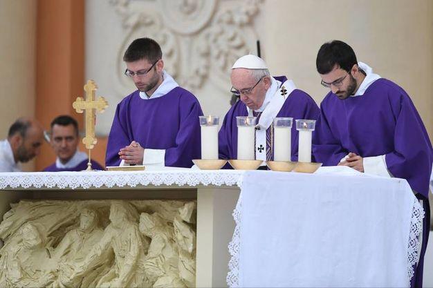 La Messa del Papa (Foto Fiocchi)