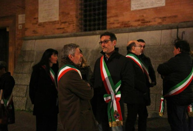 Anche il sindaco di Bologna, Virginio Merola, ha voluto essere presente (Ansa)