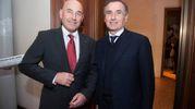 Andrea Riffeser Monti con Claudio Sabatini (foto Schicchi)