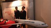 La cena di gala organizzata  da corporate Turkish Airlines e dedicato alle aziende di Bologna (foto Schicchi)