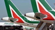 Sciopero Alitalia (Ansa)