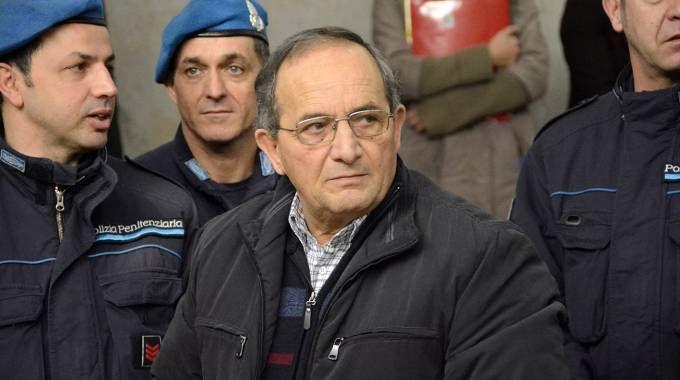 Antonino Bilella in tribunale a Firenze