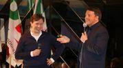 Renzi e Nardella (foto NewPressPhoto)