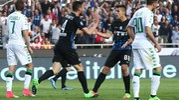 Il gol dell'Atalanta arriva al 73' (Ansa)