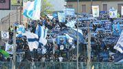 I tifosi della Spal a Brescia (foto LaPresse)