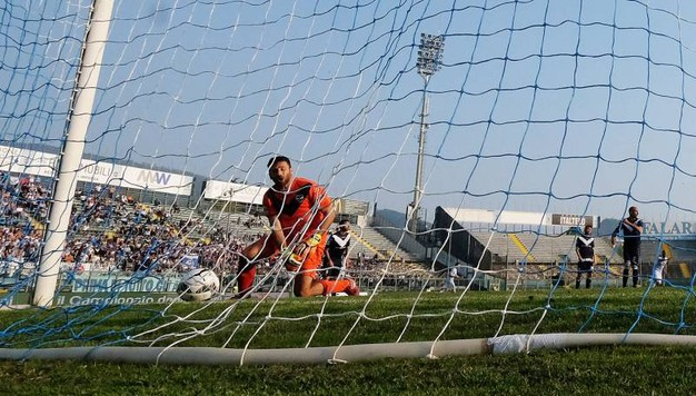 Il gol di Antenucci (Fotolive)