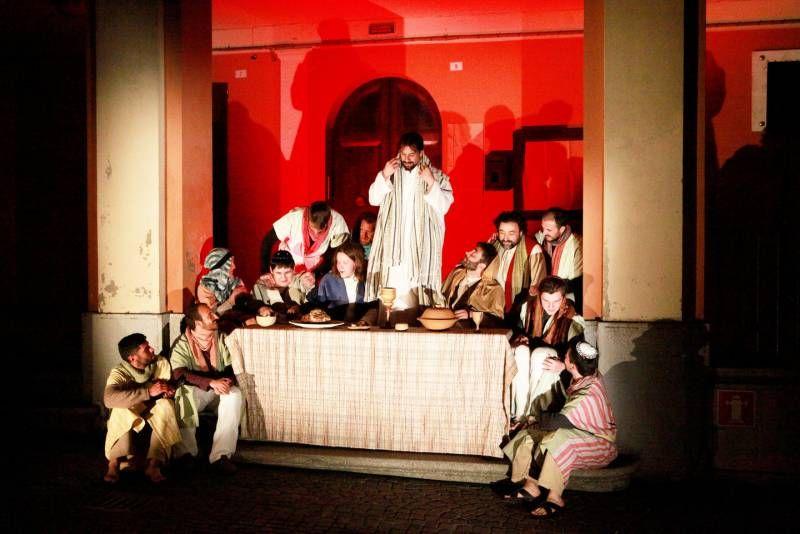 La rappresentazione è organizzata dalla parrocchia di San Cristoforo e dalla Comunità Papa Giovanni XXIII (foto Ravaglia)