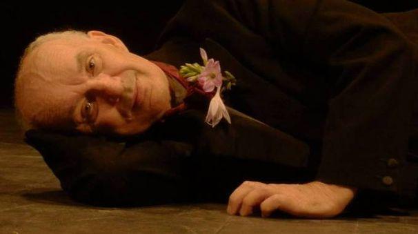 L'attore torinese Giovanni Mongiano, 67 anni