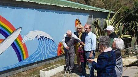 Arte contro l'impatto di muri e argini