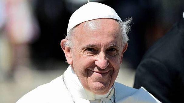 Papa Francesco sarà a Bologna l'8 ottobre (foto Olycom)