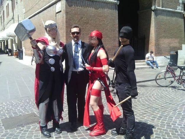 Alla manifestazione di fumetti a Ferrara