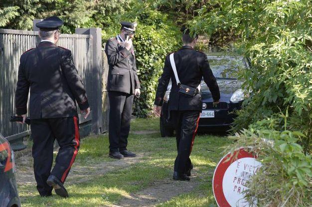I carabinieri sul luogo del ritrovamento (Spf)