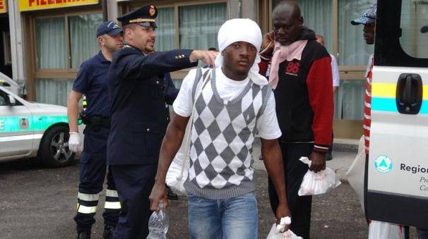 Profughi nel Milanese