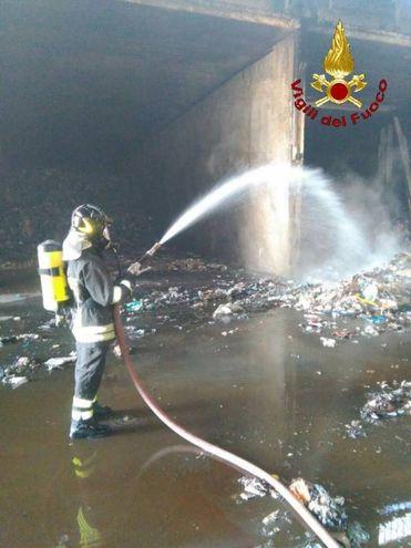 L'incendio alle Strillaie