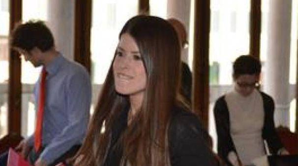 Carlotta Portieri il giorno della laurea