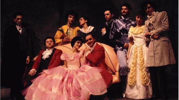 'Quegli irresistibili favolosi fratelli Grimm' di Mescolini (foto inedita di Senni)