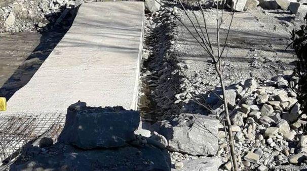 Terminati a Carseggio i lavori del guado sul fiume Santerno