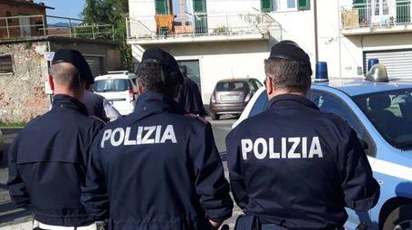 La polizia schierata