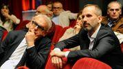Romano Carancini e Luciano Messi (foto Calavita)
