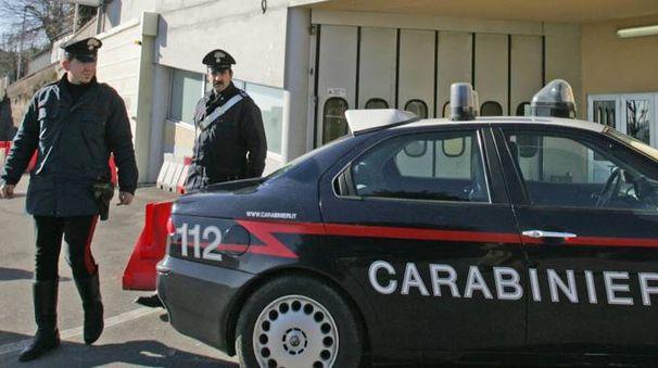 Sul posto sono intervenuti i carabinieri di Civitanova (archivio)