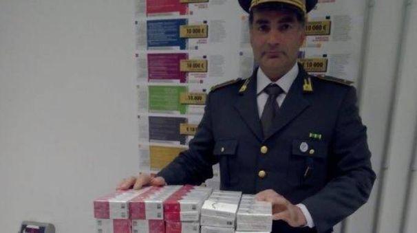 La Finanza a contrasto del contrabbando di sigarette