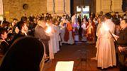 La Via Crucis in centro storico (foto Frasca)