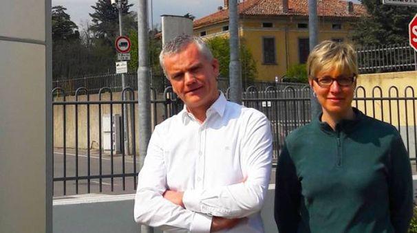 Pietro Pini e Monica Gatti