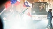 Sventolano le bandiere della Lardini Filottrano