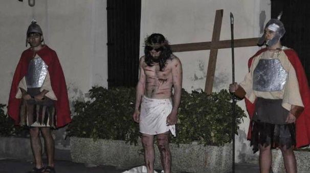 Una fase della Passione di Cristo