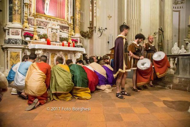La Processione dei Crocioni a Castiglione