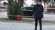 I carabinieri sul posto (foto Sgattoni)