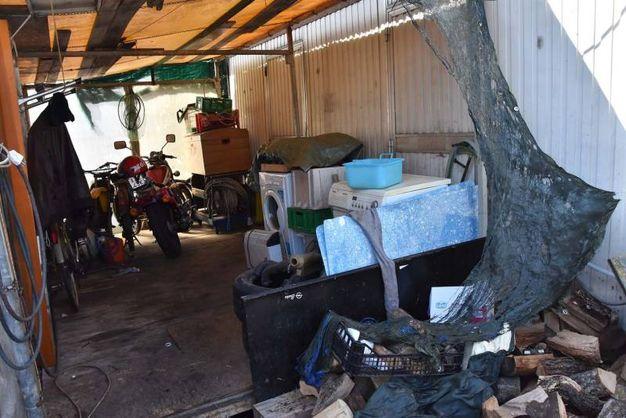 La roulotte è nel campo nomadi di via Ancini a Roncocesi (Artioli)