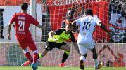 Il gol di Mbakogu al 69' (foto LaPresse)