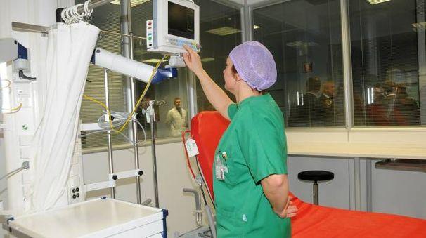 All'ospedale di Cantù
