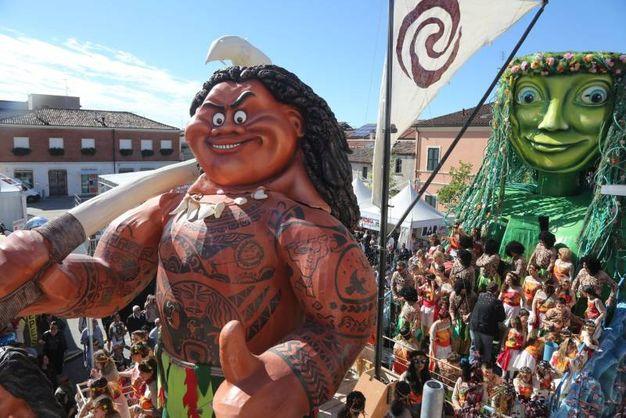 Il Carnevale di Gambettola (foto Ravaglia)
