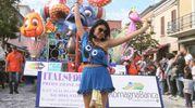 Gambettola, tanta gente di tutte le età al Carnevale (foto Ravaglia)