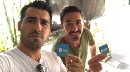 I due giovani pietrasantini Francesco Piana e David Lo Bue, inventori della app i-Uto che è in semifinale a un concorso in Cina