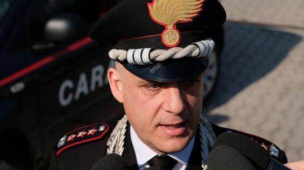 Il colonnello Valerio Giardina, comandante dell'Arma di Bologna