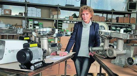 Vicky Galliani, alla guida dell'azienda Fabio Leonardi di Anzola Emilia